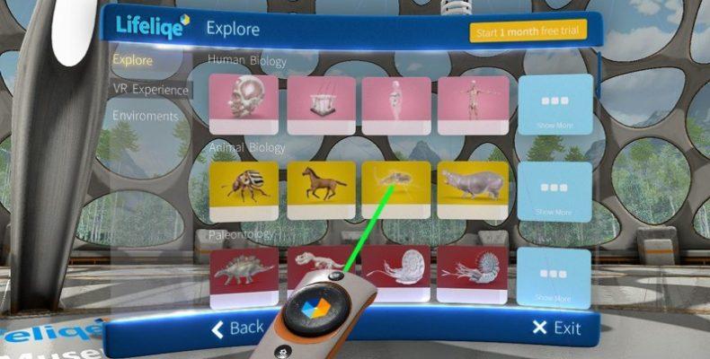 Lifeliqe VR Museum