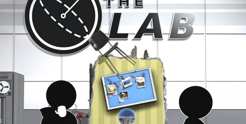 the lab logotype
