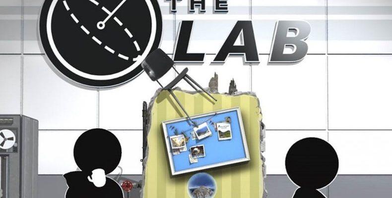 the lab logotype