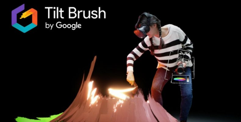 tilt brush google играть