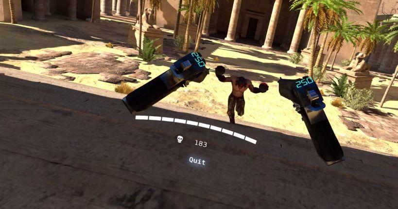 Serious Sam VR: The Last Hope - Геймплей