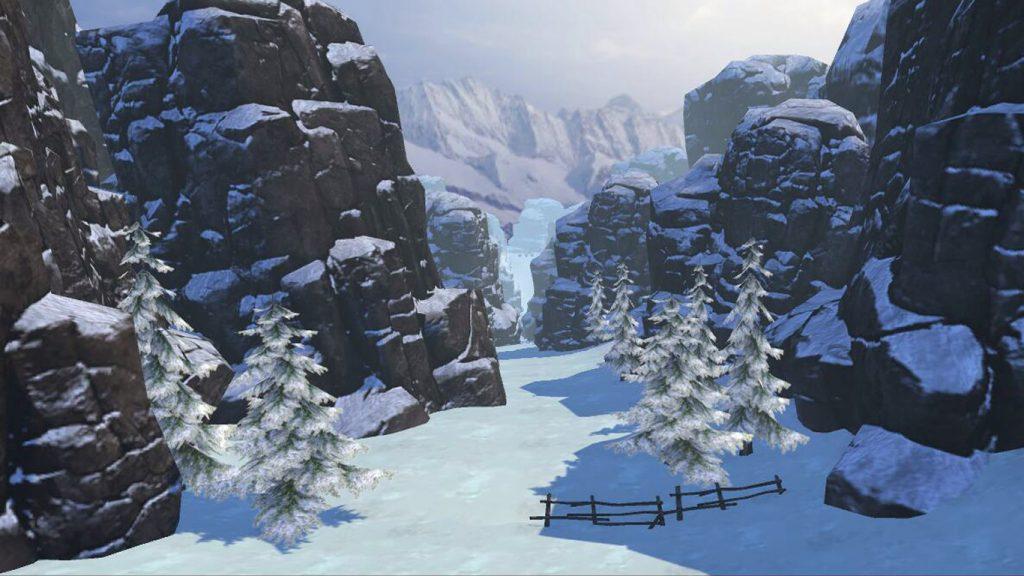 Fancy Skiing VR - симулятор лыж в виртуальной реальности