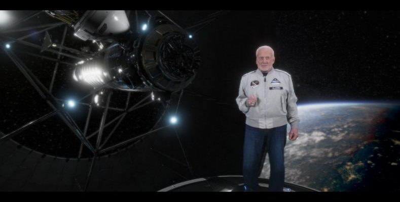 Buzz Aldrin Cycling Pathways to Mars-vr