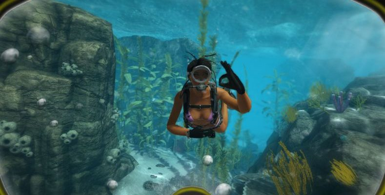 world of diving - дайвинг в VR