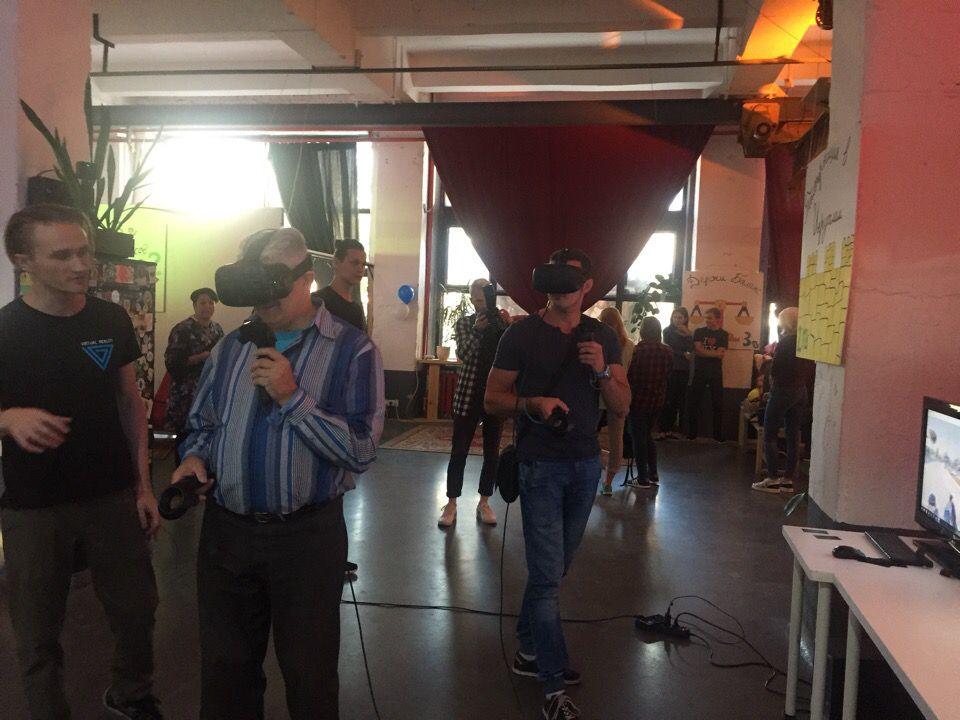 """VR Group на мероприятии """"Израильский дворик"""" 30.08.2018"""