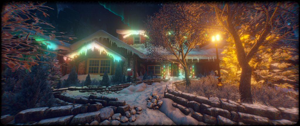CHRISTMAS кооперативный квест в виртуальной реальности